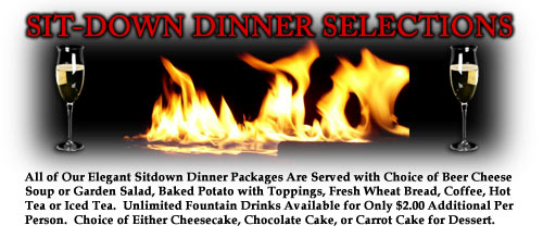 Sit-Down Dinner Selections