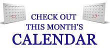 Click Here to View Our Calendar!