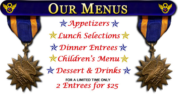 Our Menus